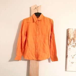 Ralph Lauren Button Down Blouse Work Shirt Top o